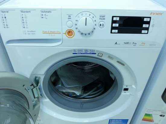 Indesit XWDE 961480X washer dryer