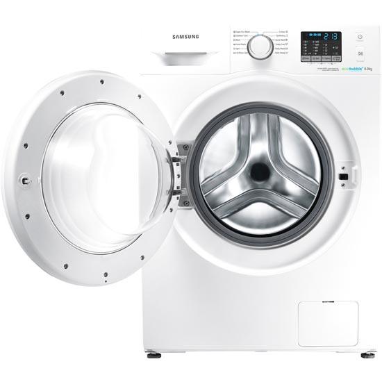 Samsung WF80F5E0W2W washing machine with ecoBubble