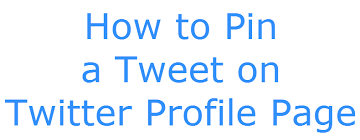 How To Pin And Unpin Twitter Tweet Techinreview