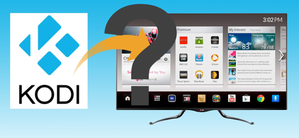 Install Kodi on your Smart TV
