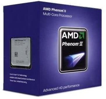 AMD Phenom II X4 840 Edition Deneb 3.2 GHz 4x512 KB L2 Cache Socket AM3 95W Quad-Core Processor