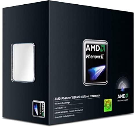 AMD Phenom Ii X4 965 Black Edition 3.4Ghz AM3+ Quad Processor