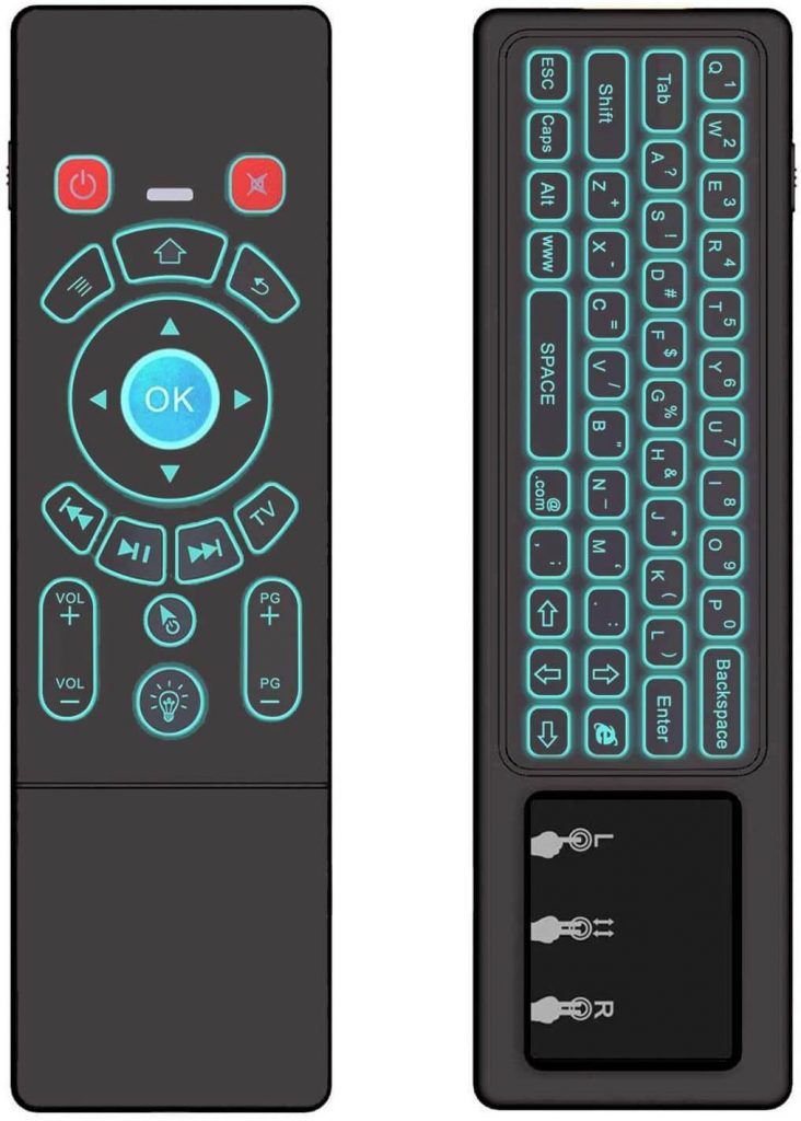 ILEBYGO RGB Rechargeable Mini Wireless Keyboard