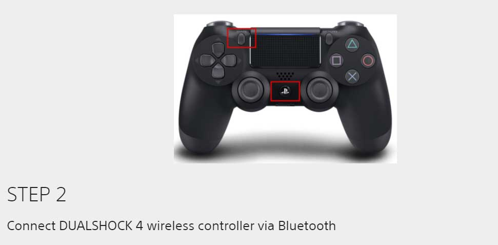 connect ps4 controller to android smartphone
